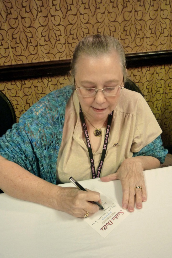 45. AV signing book plate at 2011 SF