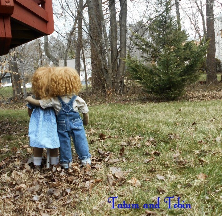 Tatum and Tobin course dolls