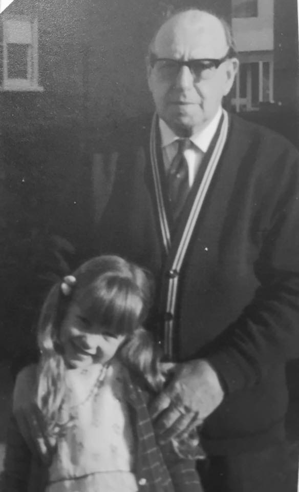 me and Grandad Arthur