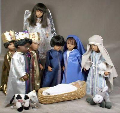 mums Nativity set